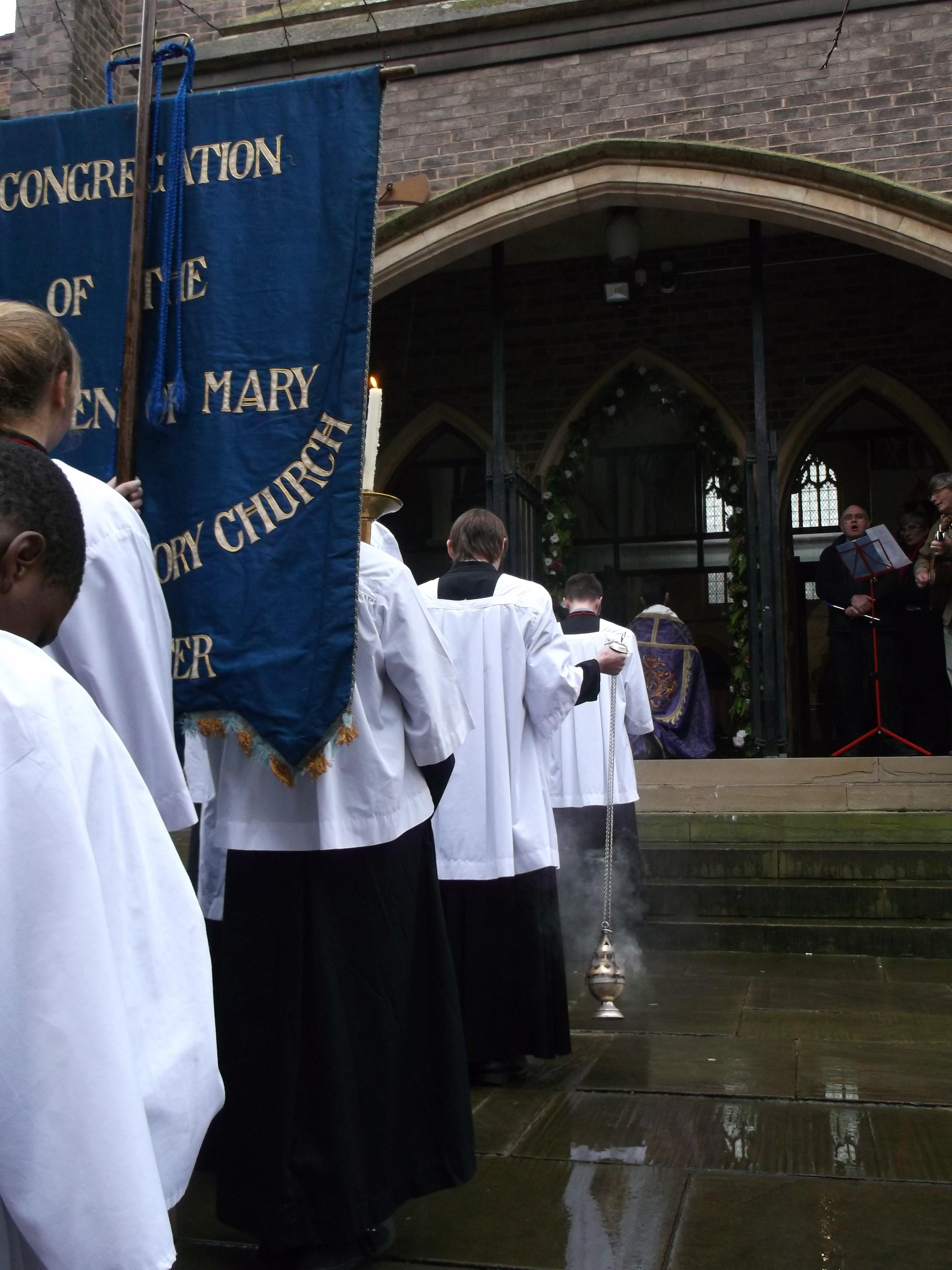 Prayer entering Holy Door