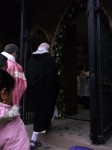 entering the Holy Door