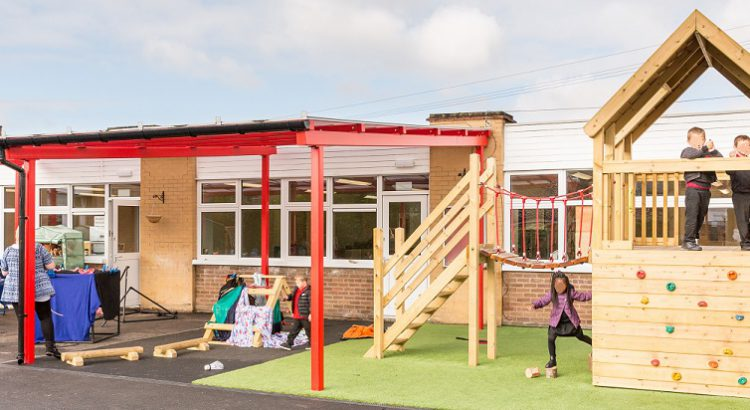 holy cross school reception play area