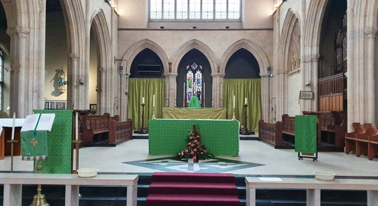 Holy Cross Priory Altar